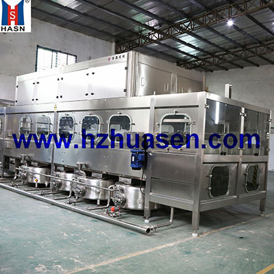 Fully-automatic high-pressure internal flushing disinfection machine