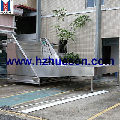 Five gallon automatic barrel sorting machine