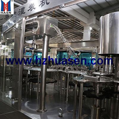 HSG自动果肉混合饮料灌装机